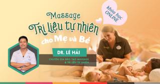 Các bài học Massage hàng ngày dành cho mẹ và bé