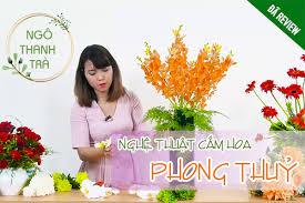 Dạy cắm hoa cơ bản theo phong thủy