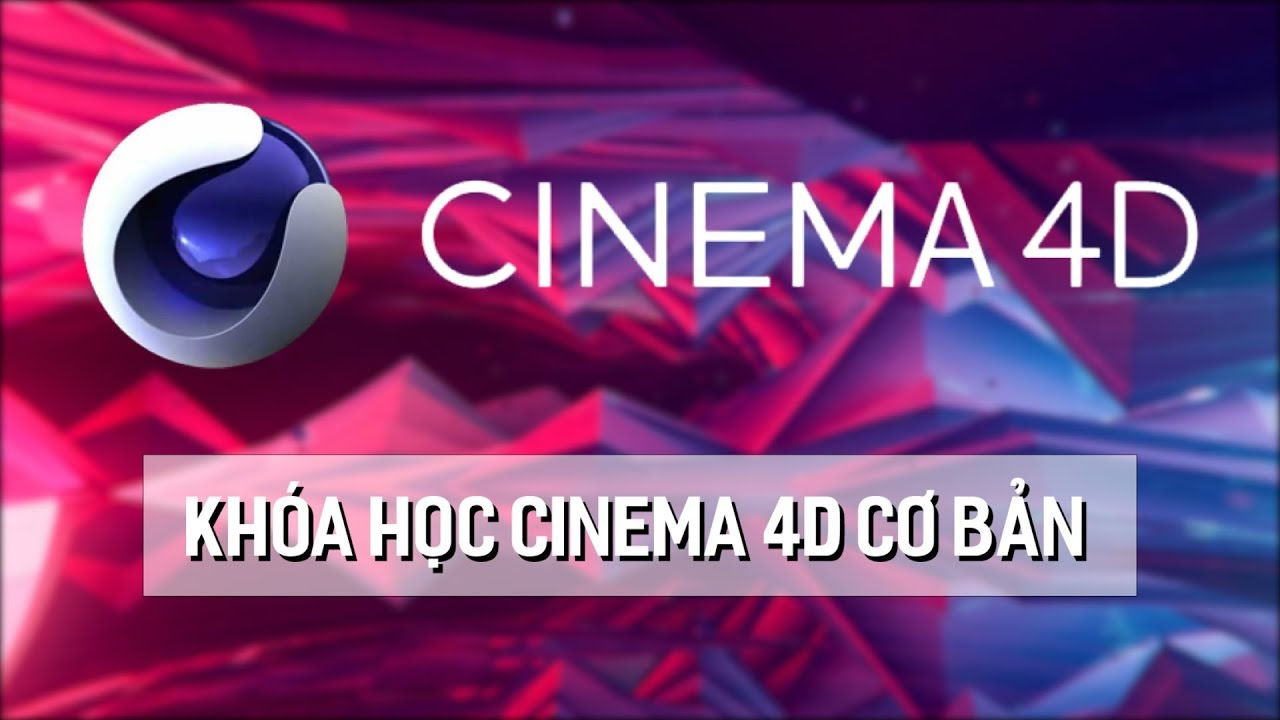 Học Cinema 4d Cơ Bản